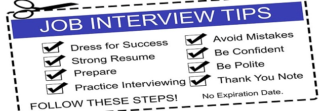Useful Tips for Face To Face Interview